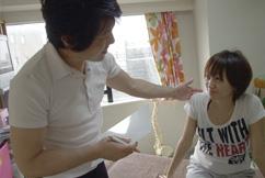 姿勢、骨格の可動を確かめる横浜ホーム整体Happy Style